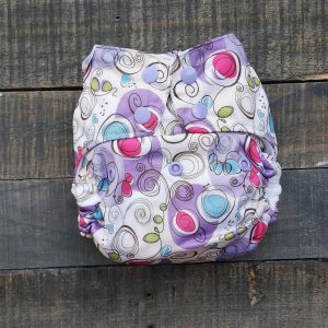 One Size Pocket Diaper with Bamboo Inserts