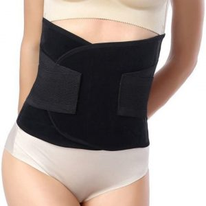 Post Maternity Belly Band – Black