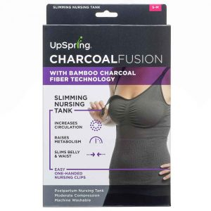 Charcoal Fusion Belly Slimming Nursing Tank-L/XL