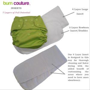 Bum Couture Microfiber Inserts Set