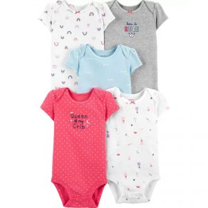 Carters 5pc Bodysuit