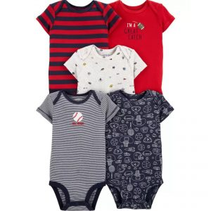 Carters 5pc Bodysuit – Great Catch
