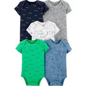 Carters 5pc Bodysuit – Dino