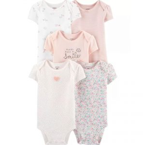 Carters 5pc Bodysuit – Smile