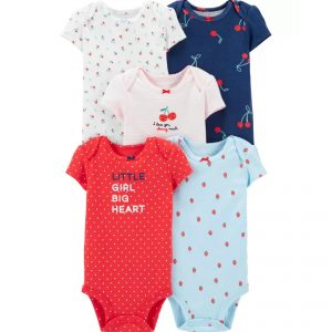 Carters 5pc Cherry Bodysuit