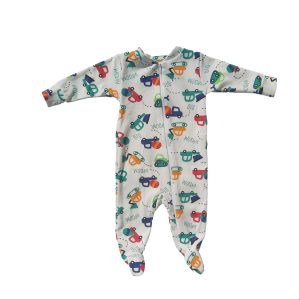 Bum Couture Zip-up Footed Sleeper – Trucks
